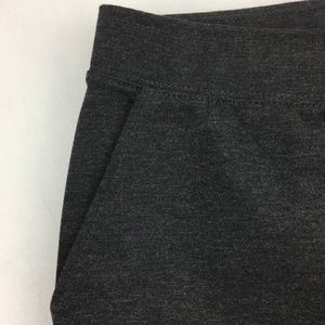 NEW!!! CHICO's dark heather gray ponte knit pant